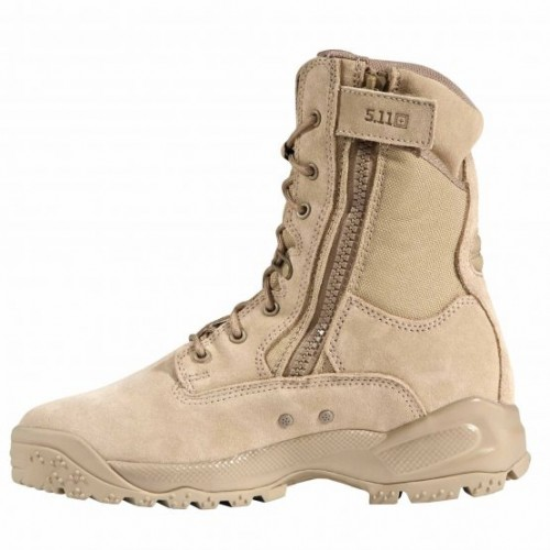 "Botas 5.11 Tactical A.T.A.C. 8"" Side Zip Boot Coyote"