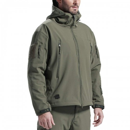 Chaqueta Softshell Color Verde