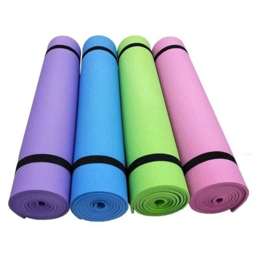 Mat De Yoga Pilates Espesor 6mm