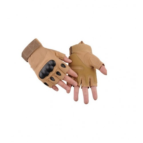 GUANTES TACTICOS MODELO N2 MITONES COLOR COYOTE