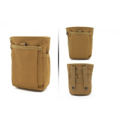 Bolso Militar Molle Para Municion Color Coyote