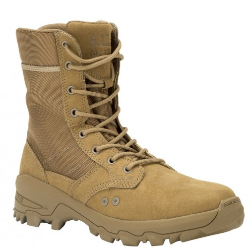 Botas tácticas Speed 3.0 RD( Rapid dry- secado rápido) CT en color coyote, de la marca 5.11 Tactical