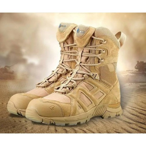 Bota Táctica Militar Airsoft Outdoor Atzb Color Ocre