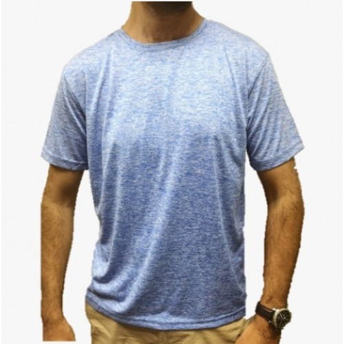 Polera Outdoor Color Celeste