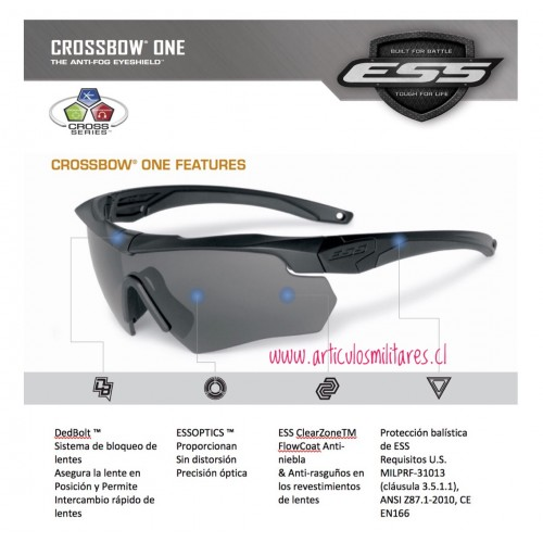 Lentes Crossbow One (originales)
