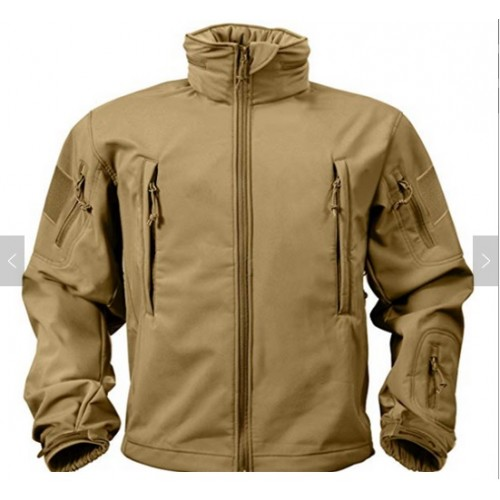 Chaqueta Softshell Color Coyote