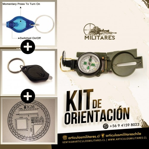 KIT DE ORIENTACIÓN BASICO